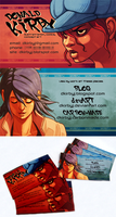 8D BUSINESS CARDS by dkirbyj