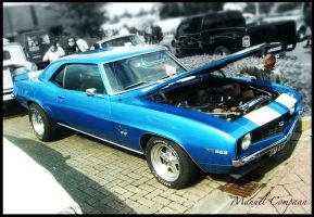 1969 Chevrolet Camaro SS by compaan-art