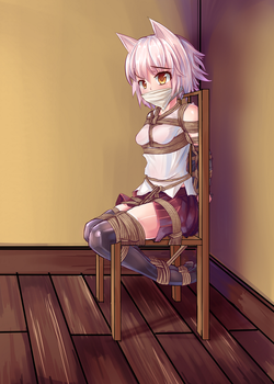 Momiji Chair Tied by LightningRook106