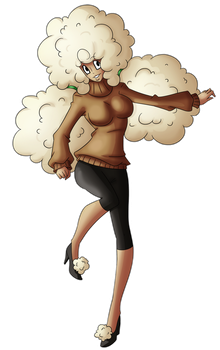 Pokepeople: Whimsicott by DrCrafty