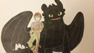 how to train your dragon , right by your side by ILuv2BSilly