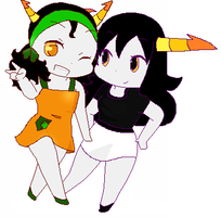Homestuck OC's by Cheezit1x1