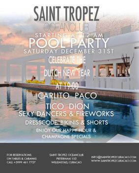 Saint Tropez Pool Party V.2 by AbstractMentality