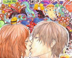 Illustration 1: First Love by oranges101614