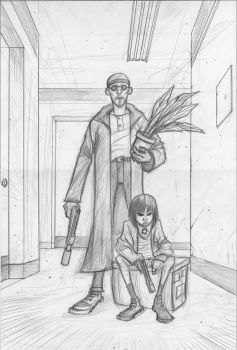 Leon-pencils by Axel13-Gallery