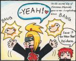 Akatsuki: second day of x-mas by Shootingstar-pink
