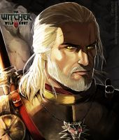 The Witcher 3: Geralt Of Rivia by SaraSama90