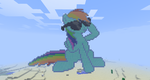 Deal With It in Minecraft by Fifth--Element