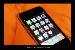 iPhone by B-Alsha3er