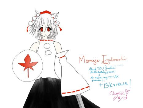 Momiji I. - THANK YOU BLUESHIFT0390 and 13K VIEWS! by choxie-chan