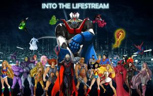 Into the Lifestream 80's Cartoon Heroes Event! by Gyaldhart