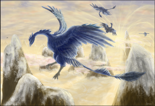 The Lords Of The Skies by Ratiazu