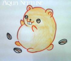 Rick's Hamster named Bubu by Charming-Manatee