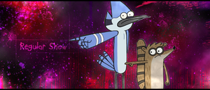 Regular Show Signature by EpiclyAlice