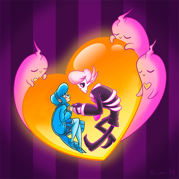 Mystery Skulls: Together At Last by Christina-LY