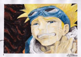 Crying Naruto by C0y0te7