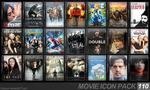 Movie Icon Pack 110 by FirstLine1