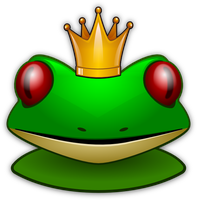 Little Frogprince Smiley by mondspeer
