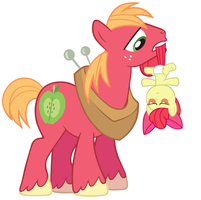 Dangit Applebloom! by Beavernator