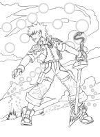 Naruto in Kingdom hearts by mattwilson83