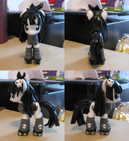 Custom Galaxy Girl Pluto Pony by Amandkyo-Su