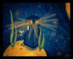 Tardis on the Jelly-Planet by DominaWhite