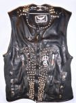 New World Order: Leather Vest by billyvector