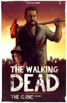 The walking dead the game by Barbeanicolas