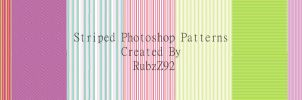 Colorful Striped patterns by RubzZ