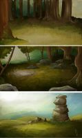 MORE Backgrounds by Fruube