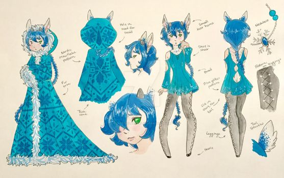 Character Ref: Torry Mjoll by LaPetitLapearl