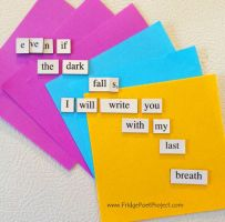 The Daily Magnet #124 by FridgePoetProject