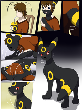 Comission: Umbreon Drink TF by Avianine