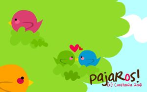 pajaRos by unknownarteest
