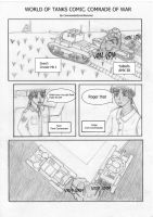 World of Tank Comic :Comrade Pag 1/4(Not finished) by CommanderErwinRommel