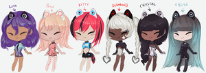 Android Angels ~~ adopts close by twin-tail