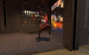 TF2 - Demoman with Kilt by The-Loiterer