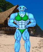 Strong Arms of the Poogle 2 by kusanagiartist