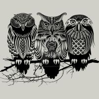 Owls of the Nile by Design-By-Humans