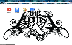 The Agonist Logo Theme by bandchromethemes