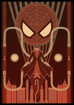 Spider-Man 2 Deco Poster by PaulSizer