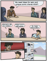 Boardroom Meme by G-creator