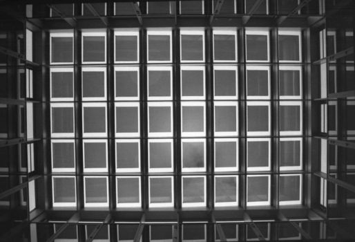 Glass and Steel Grid by Robin-Bervini
