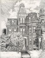 Victorian house by yipi