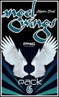 Angel Wings 6 PNG Stock by Alegion-stock