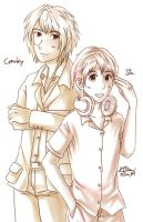 Cytus : Cranky and Sta by Kikansha