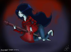 Marceline and her Ax Guitar by BaconLovingWizard