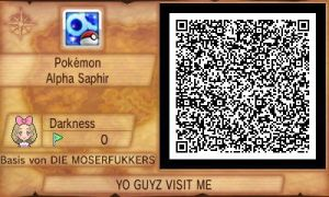 My sectret base QR CODE!! VISIT ME GUYZ!!! by shadowhatesomochao