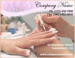 Ad Template - Manicurist by drkdsgn