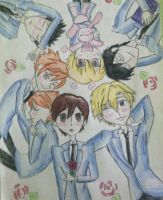 Ouran High Host Club by cheesecollector